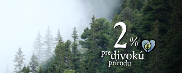 2 % z dane na ochranu lesov
